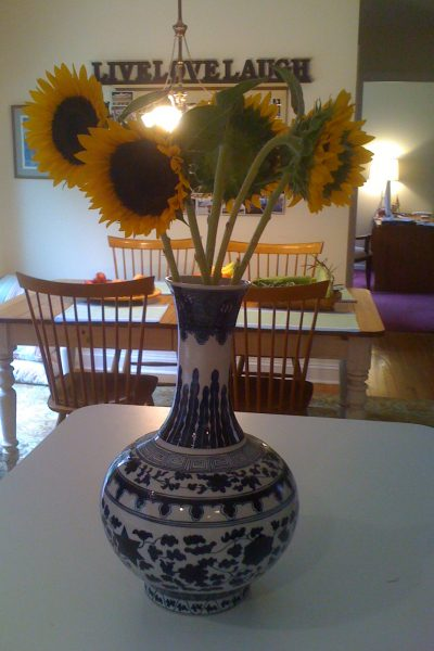yellow home accent pieces