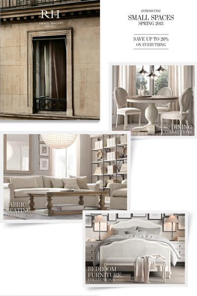 Restoration Hardware Spring 2013 Catalogs