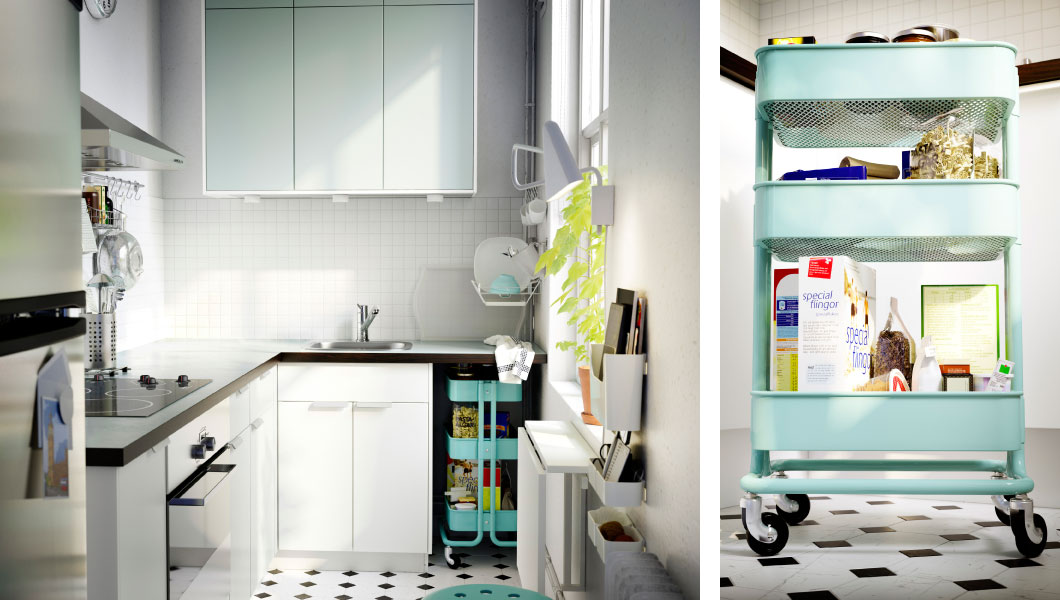 Small Kitchen Big Style Intentionaldesigns Com From Ikea