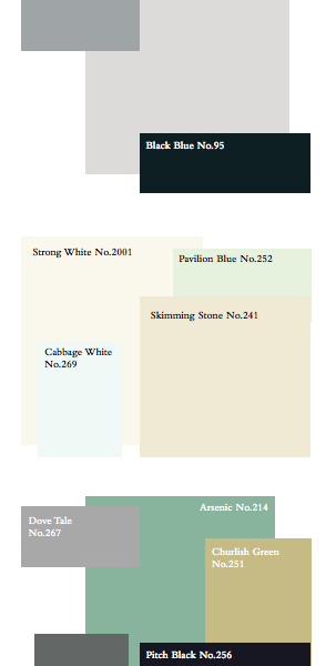 The Great Gatsby Paint colors by Farrow & Ball