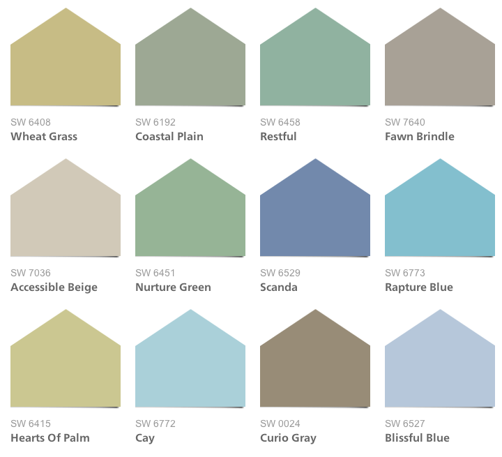 coastal cool paint colors intentionaldesigns com