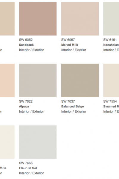 Sherwin Williams 2014 Color Forecast, Diaphanous