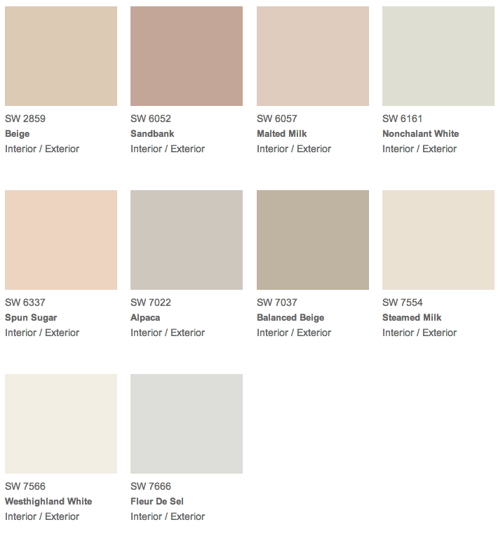 pastel paint colorspastel paint colors  IntentionalDesignscom
