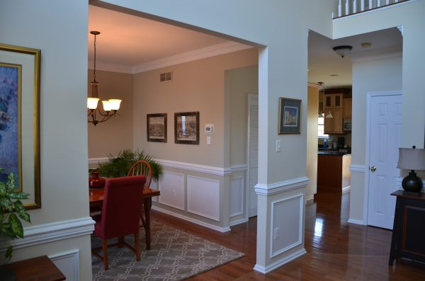 Benjamin Moore Gray Mirage. www.IntentionalDesigns.com