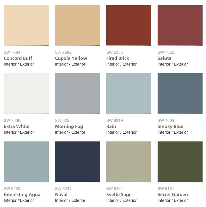 Pottery Barn Paint Colors For Fall Winter 2013