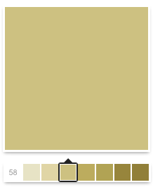 Sherwin-Williams. SW 6401 Independent Gold.