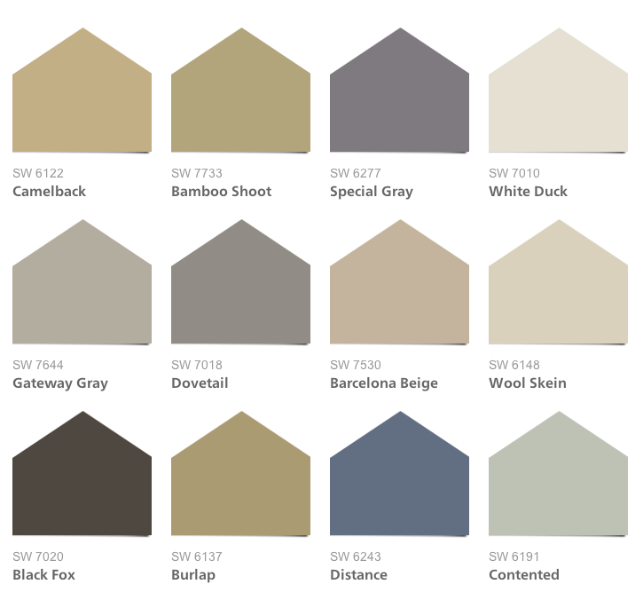 2014 hgtv dream home paint colors - Sherwin williams exterior colors 2014 ...