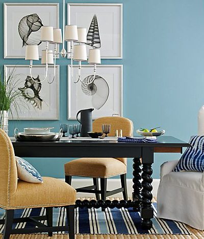home accent colors turquoise.