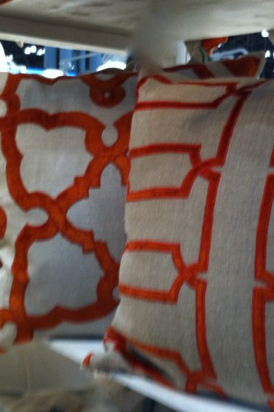 From Calypso: NYG Pillows 2014 Orange