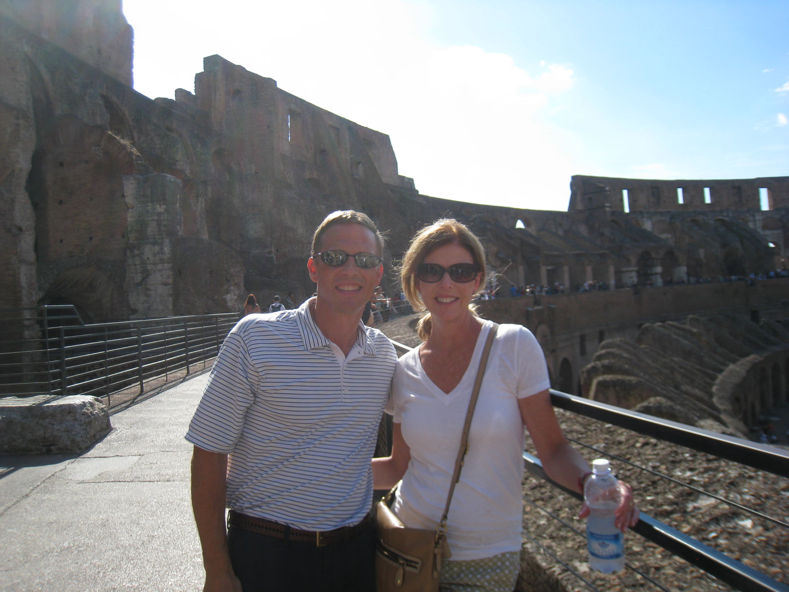 Italy Vacation.  The Colosseum in Rome.  intentionaldesigns.com
