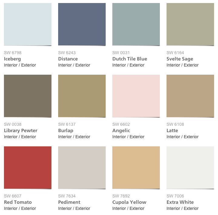 Pottery Barn Paint Colors Sherwin Williams MEMEs