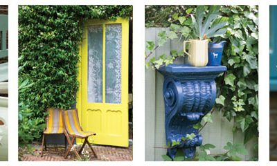 spring clean up … front door paint color ideas