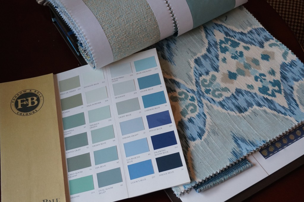 Accent Fabric, Farrow & Ball 2015 Key Colours