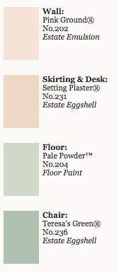 2015 Farrow & Ball Key Colours