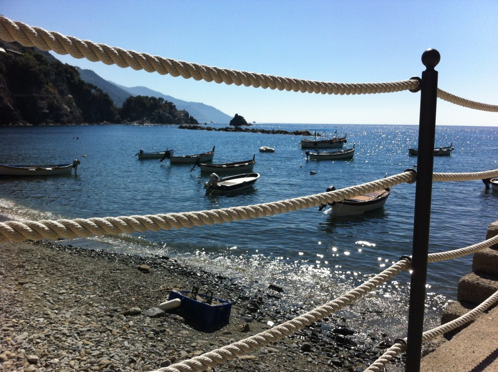 May's Color of the Month, Blue. Cinque Terre Italy