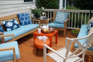 A good buy ... outdoor dining chairs