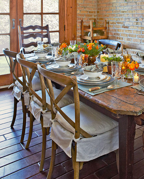 Dining Chairs, Planning for your Fall Decorating