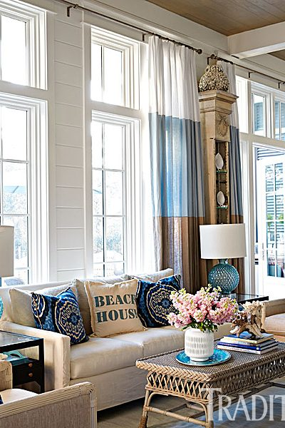 How to create a beach vibe in your home