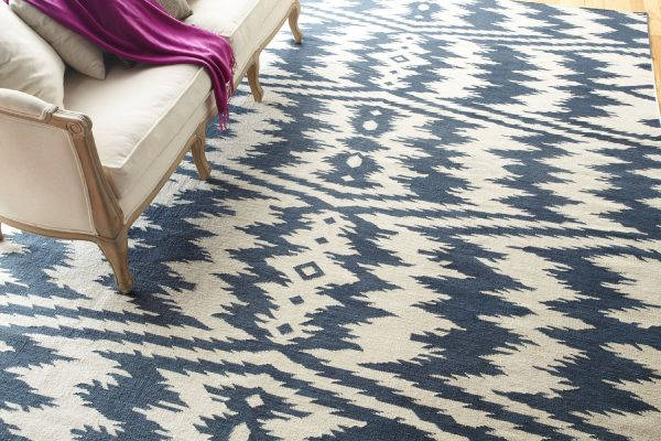 Trend Watch Ikat Patterns, From Capel Rugs Uzbek Bokrum Blue Rug