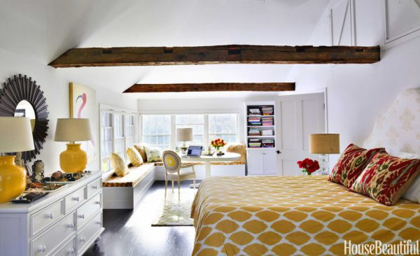 Yellow Paint Colors, Yellow Home Accessories, HouseBeatiful.com, Designer Martin Horner of Soucie Horner