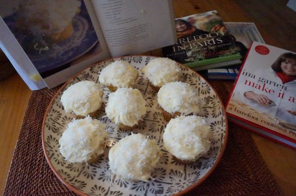 Memorial Day, Barefoot Contessa Coconut Cupcakes