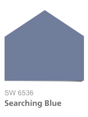 HGTV Urban Oasis 2015, Searching Blue SW 6536