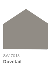HGTV Urban Oasis 2015, Sherwin-Williams Dove Tail SW7018