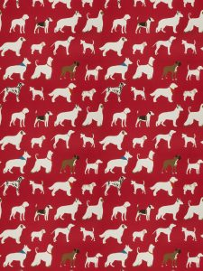 From Trend.com Dog inspired fabric from Vern Yip