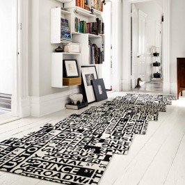 Black and White, Flor Carpet Tile, Avenue Gaits