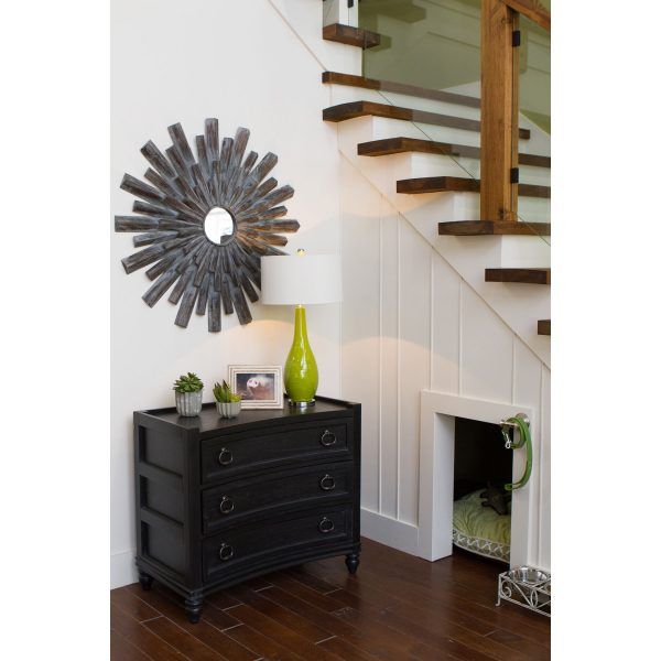 black accent foyer furniture