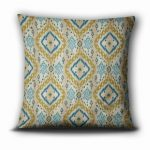 Pillow from https://IntentionalDesigns.com/Shop, Pattern: Kachina Color:Teal