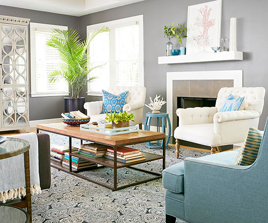 living room decorating, spring cleaning, my top 5 family room decorating ideas for a family friendly space