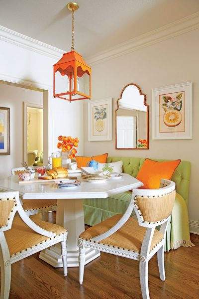 diy Cozy Colorful & Comfy Kitchen Seating