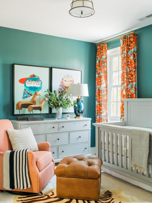 2016 HGTV Smart Home Paint Colors, Nursery, summer-house
