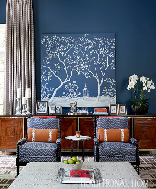 Orange, Top 5 Shades of Blue Paint Colors for your Home