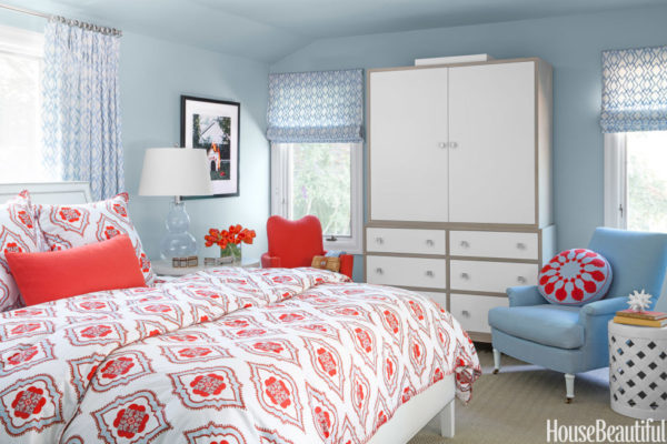 roman shades, blue, Top 5 Shades of blue paint colors for your home