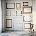 Boho Style Home Decor of Frames