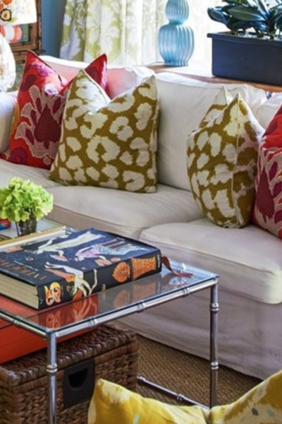Get The Look: A Fierce Celebrity Family Room