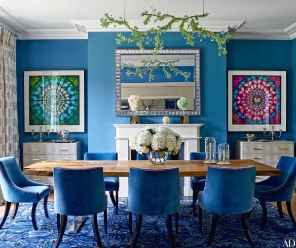 Colorful Interiors, Dining Chairs