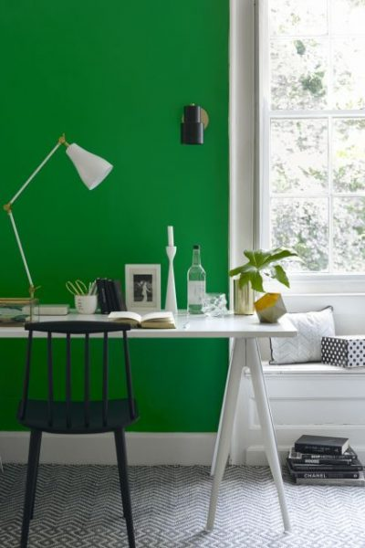 7 White & Green Painting Ideas