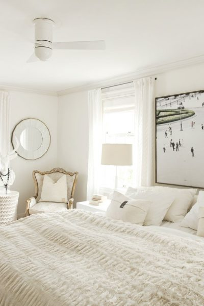 Monochromatic Bedroom of your Dreams in 6 Quick Steps!