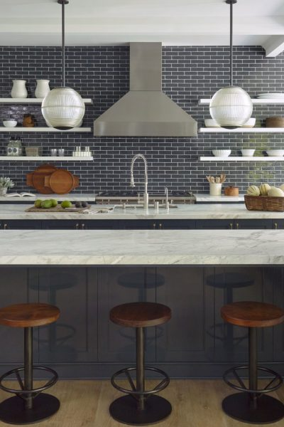 How to do open kitchen shelving right!