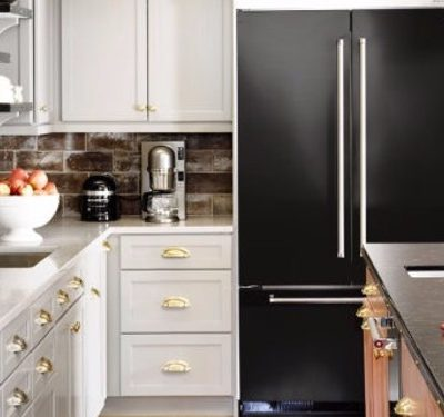 2017 Matte Black Color is Trending for home interiors!