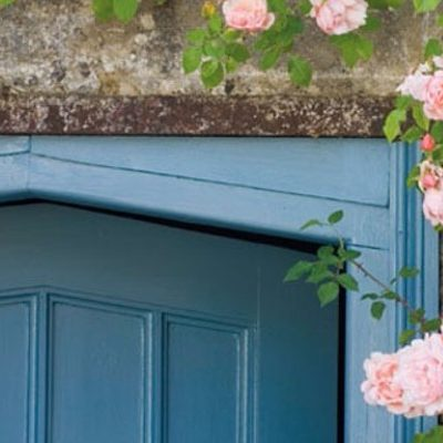 4 front door paint colors … anything but neutral!