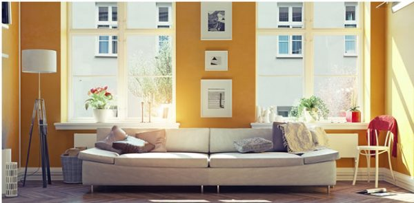 Summer Yellow Interior Paint Colors
