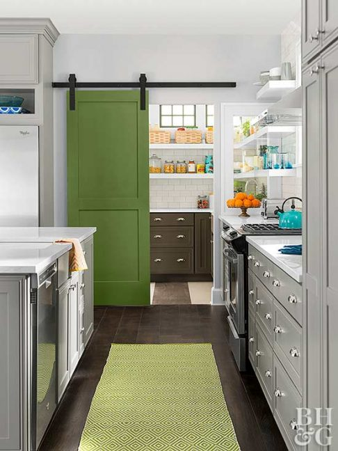 home decor trends, green