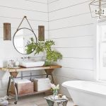 bathroom, shiplap