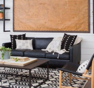 Your Living Room decorating plan in 3 easy pieces!