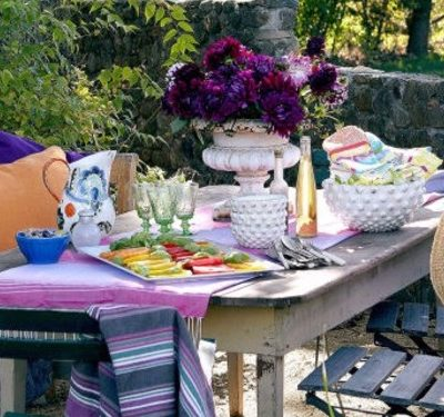 Dining Alfresco in style!