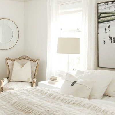 Chic White Bedroom … Get the Look!